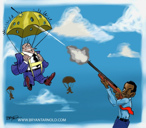 Obama Shoots Holes in Corporate America's Golden Parachutes