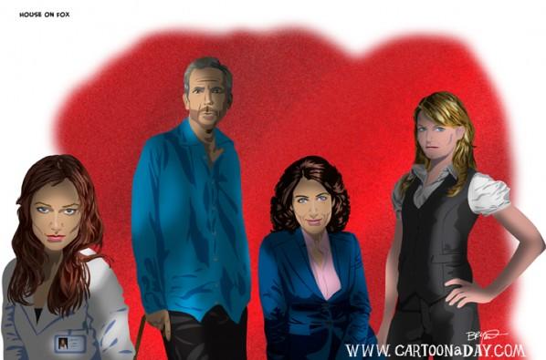 Cast Of House Fox