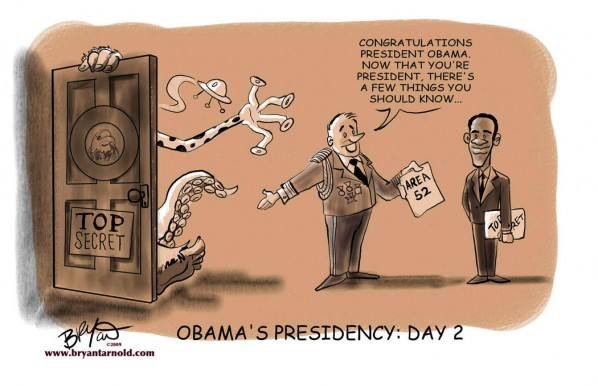 Obama's Second Day
