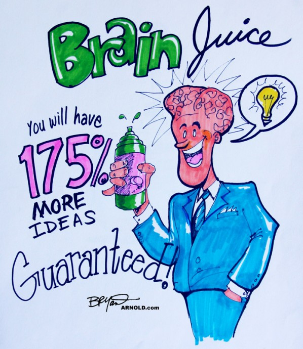 Brain Juice Fake Energy Drink Ad Spoof