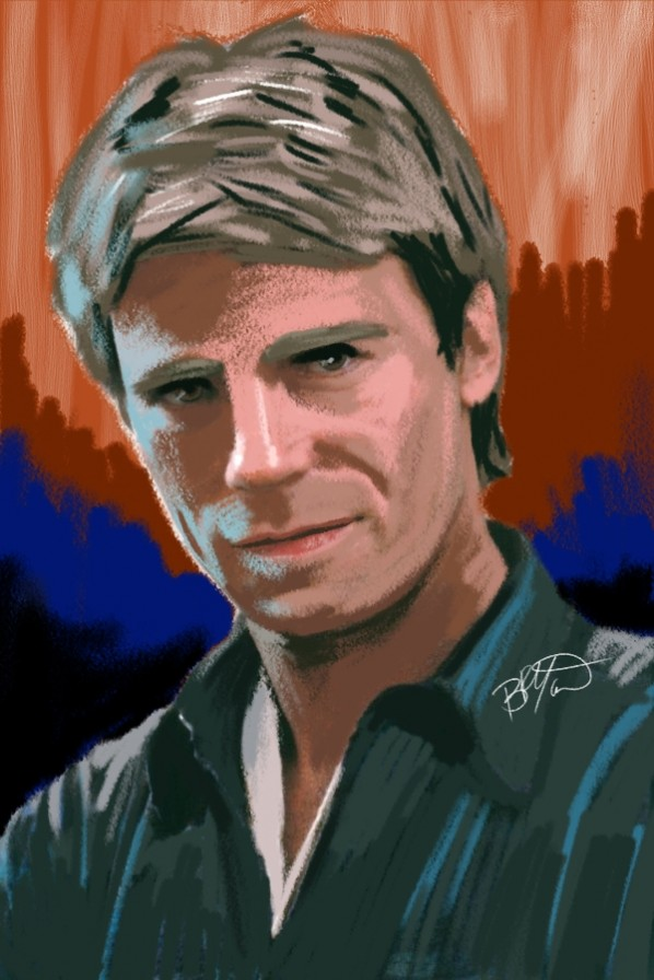 Richard Dean Anderson As Tvs Macgyver Cartoon