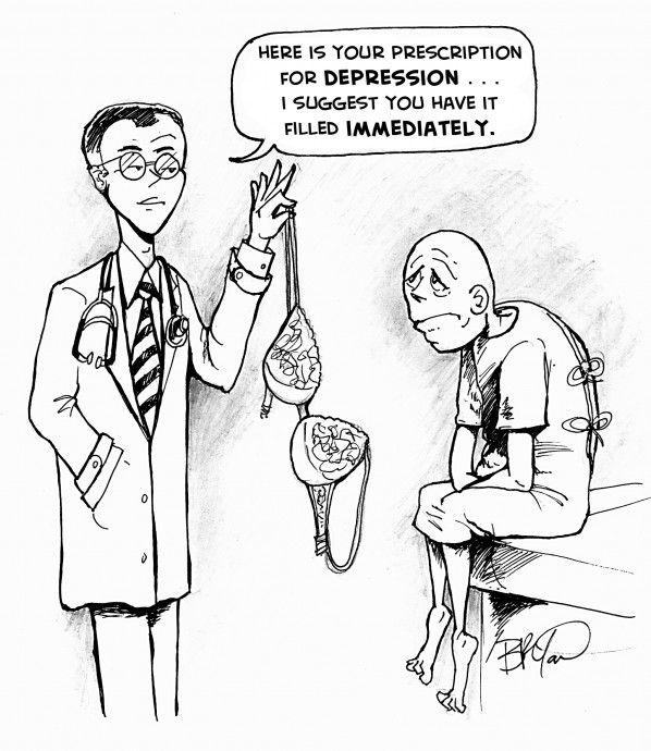 Doctor Prescribes a Woman to a Man With Depression
