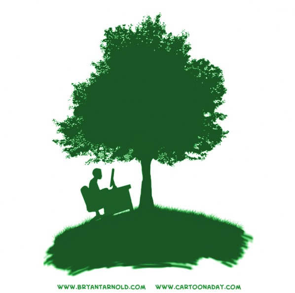 ecobusiness logo green