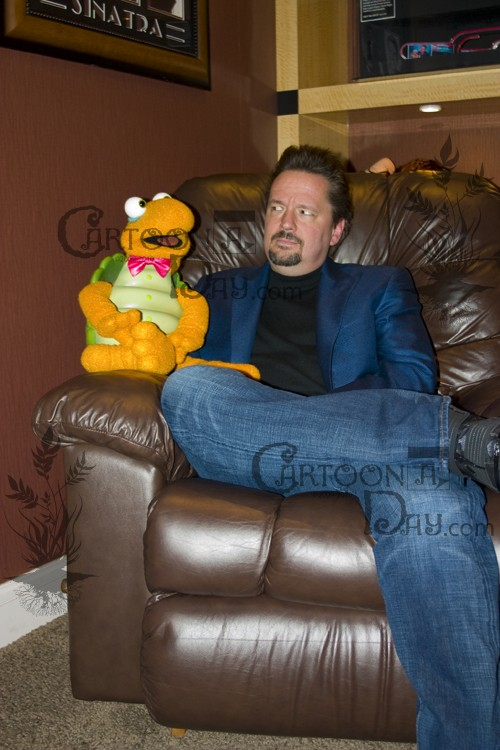 Terry Fator Dressing Room