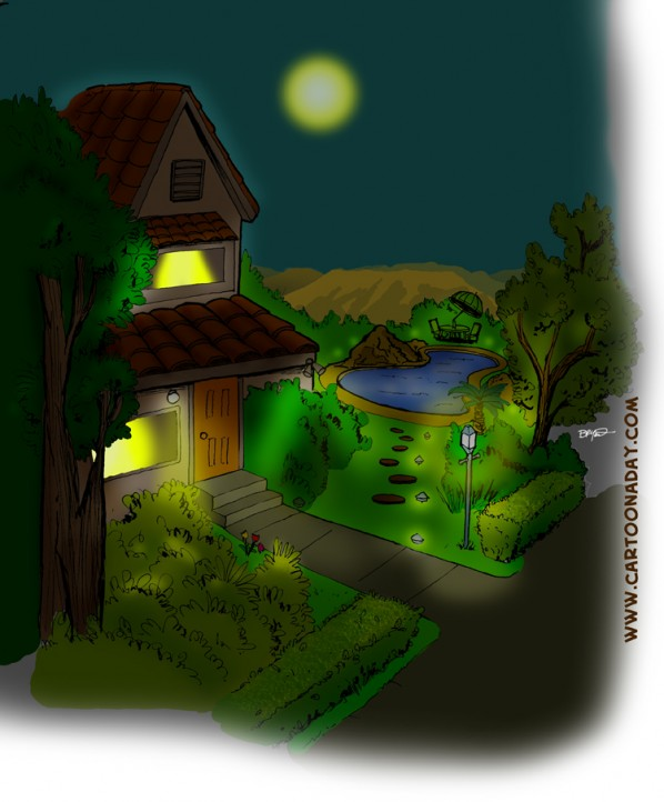 Happy House, Night time