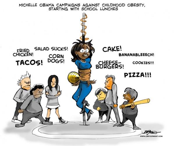 Michelle Obama Obese Kids