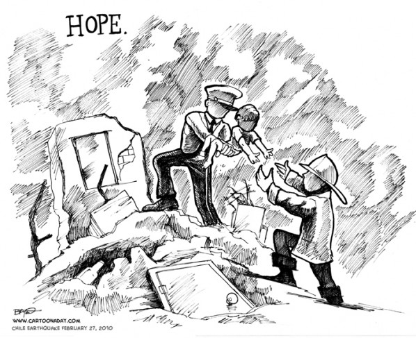hope for chile survivors