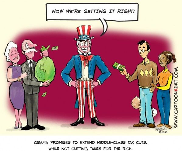 uncle sam obama tax break