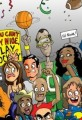 Cartoon Crowd of Sports Fans
