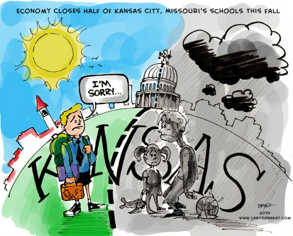 Kansas Closes 29 Schools