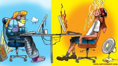 Hot And Cold Office X