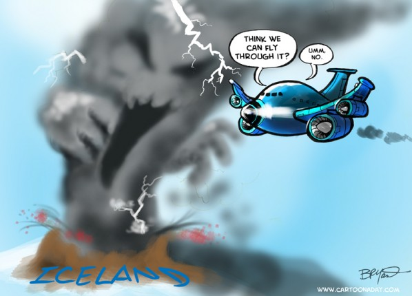 Airlines Erupt over Iceland