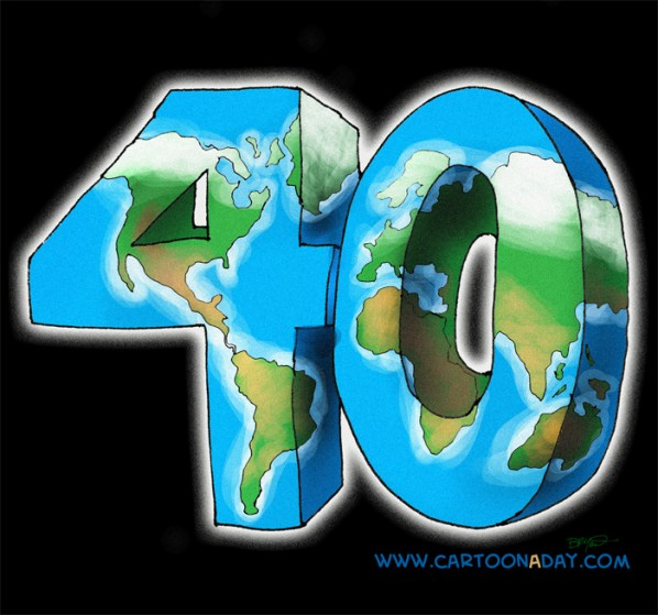 Earth Day is 40 YEars
