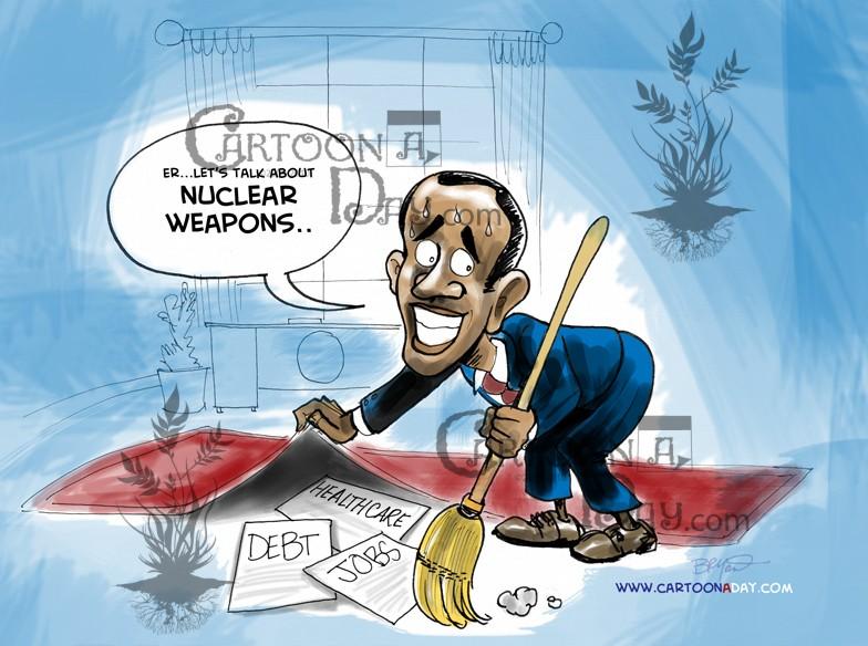 Is Sweeping Things Under The Rug Cartoon