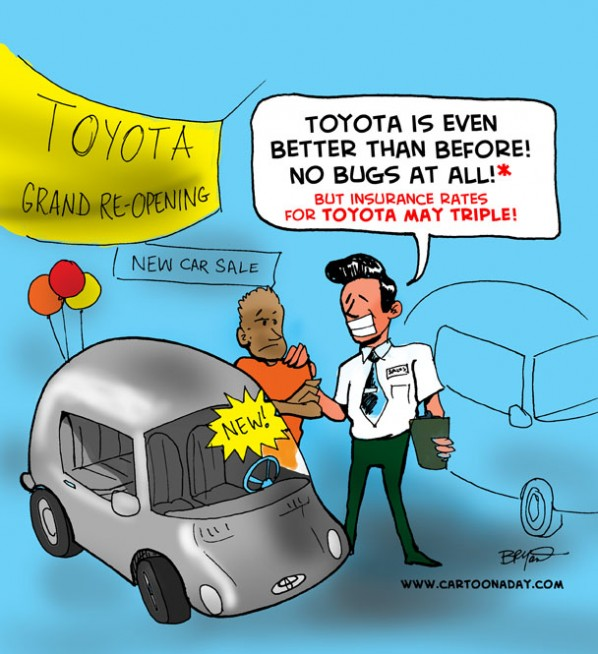 Toyota Insurance Sale