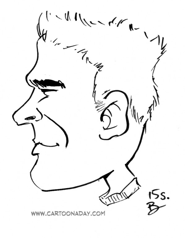 15sec Profile Caricature Bryant