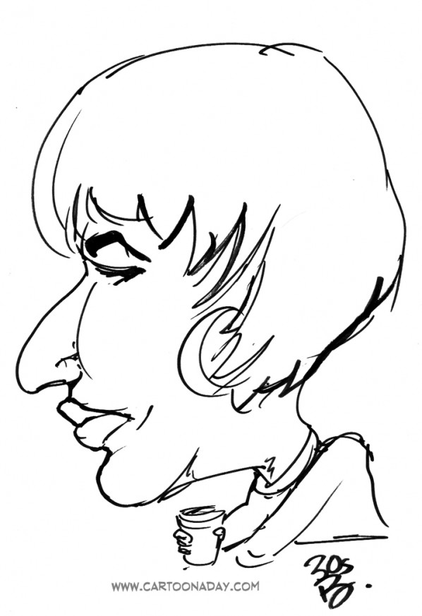 30sec Profile Caricature Nose