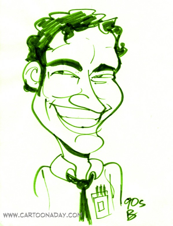 60sec Geek Caricature 2
