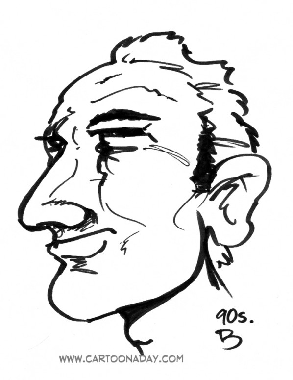 90sec Profile Caricature Grr