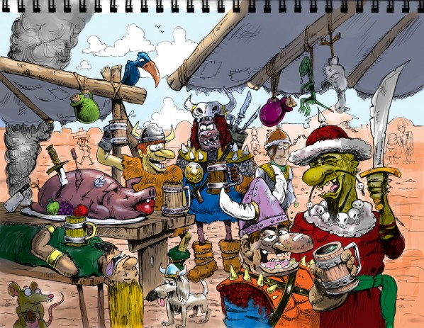 Barbarian City Cartoon final
