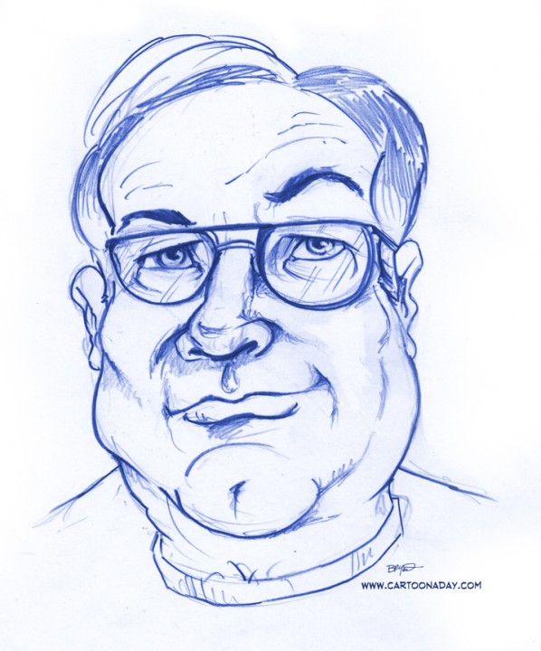 Jim Aragon Caricature
