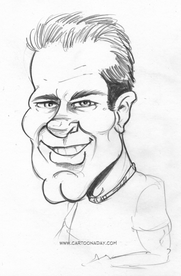 Tom caricature
