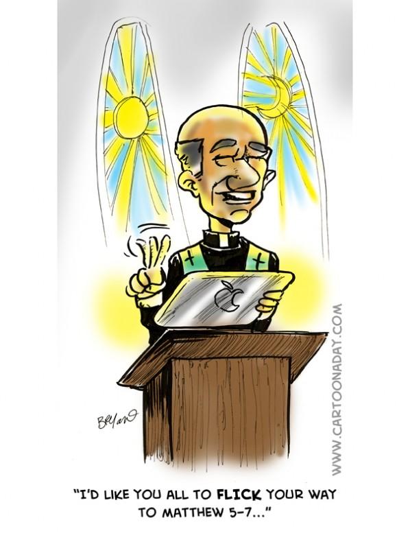 ipad preacher