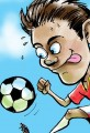 World Cup Soccer Cartoon