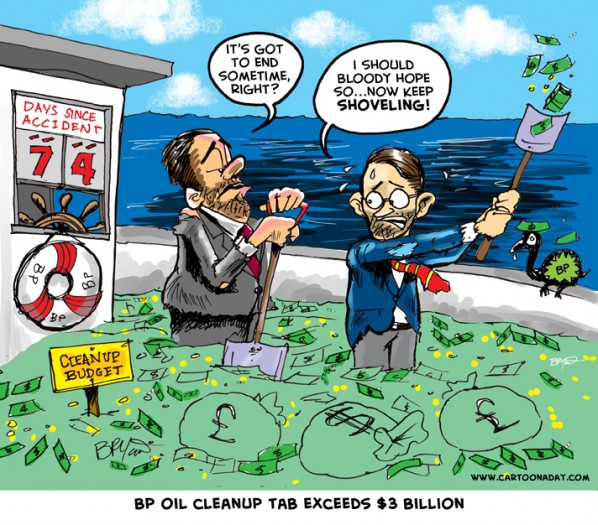 BP OIL CLEANUP 3 Billion