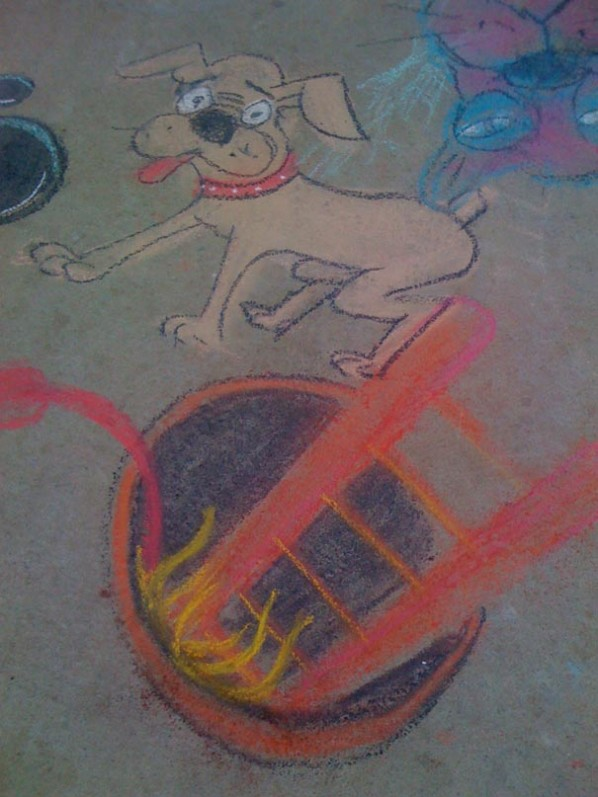 sidewalk chalk drawing.JPG2