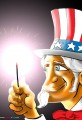 Uncle Sam 4th of July Cartoon