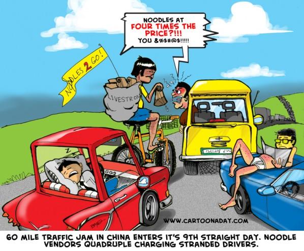 Traffic Cartoon - Bing images
