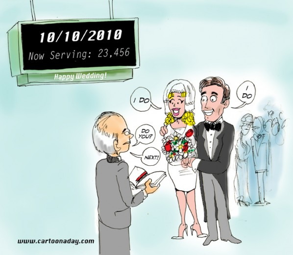 10 10 10 30,000 Weddings Scheduled