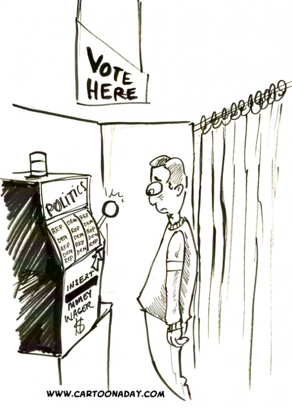 Voting-slot-machine