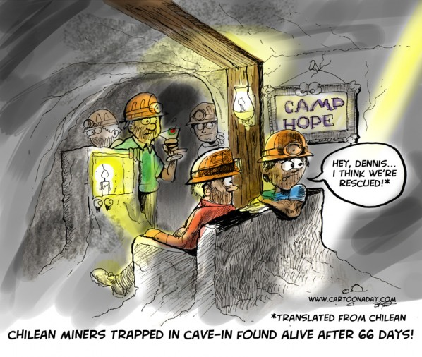 Chilean Miners Found Alive