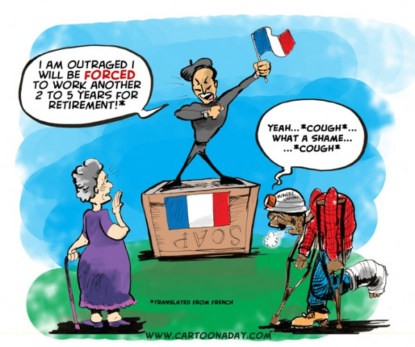 Forced French Retirement