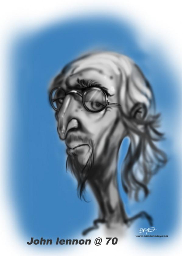 john-lennon-caricature-at-70