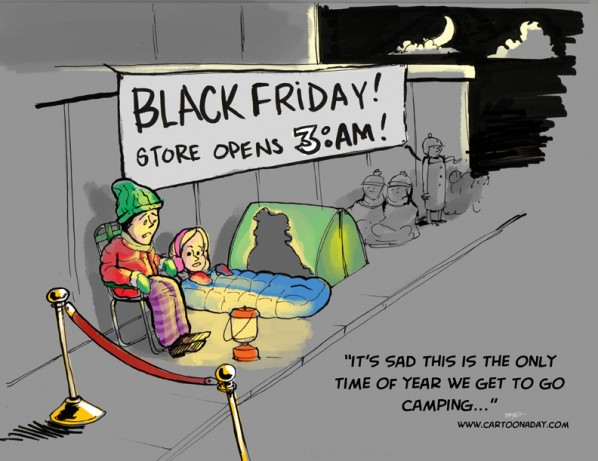 Black Friday Camping