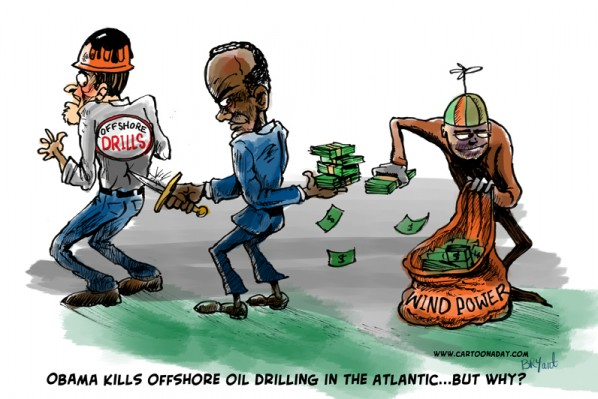 offshore Drilling Stabbed