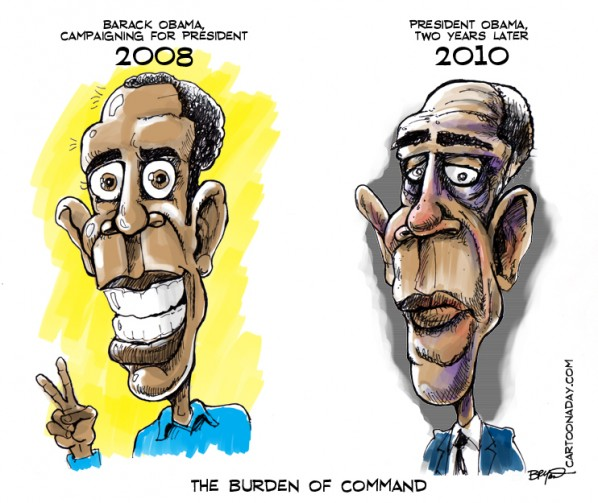 President Obama and The Burden Of Command