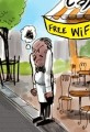 FREE Wifi Cartoon Cafe