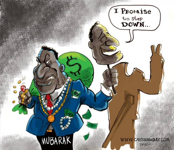 mubarak-quits-cartoon