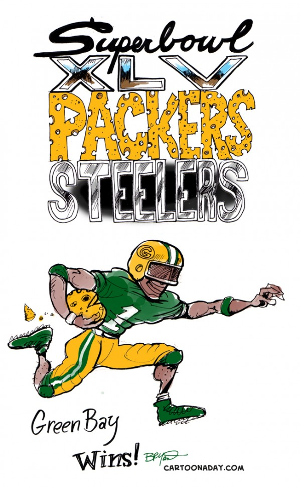Packers vs Steelers packers Win. Superbowl 45 (WLV) is officially over,