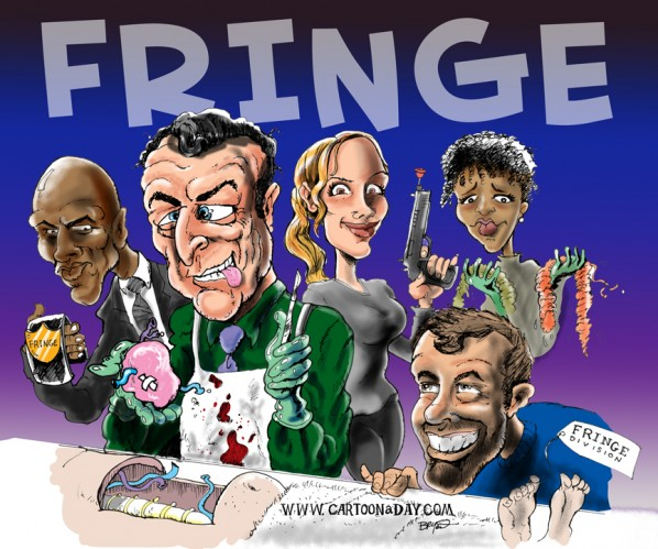fringe-cast-caricature-cartoon