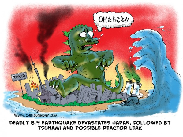 Japan Earthquake Followed By Tsunami