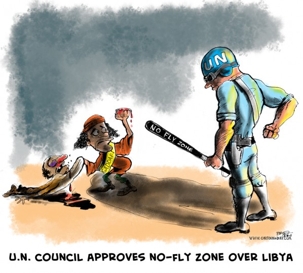 UN Approves No Fly Zone Over Libya