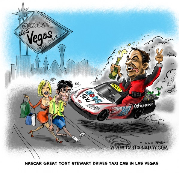 tony-stewart-cartoon-caricature