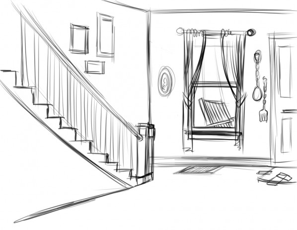 home-interior-sketch