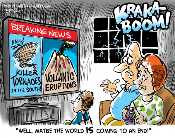 Signs of the Apocalypse Cartoon