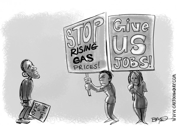 gas prices cartoon. Post this Cartoon on Twitter
